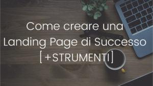 come creare landing page