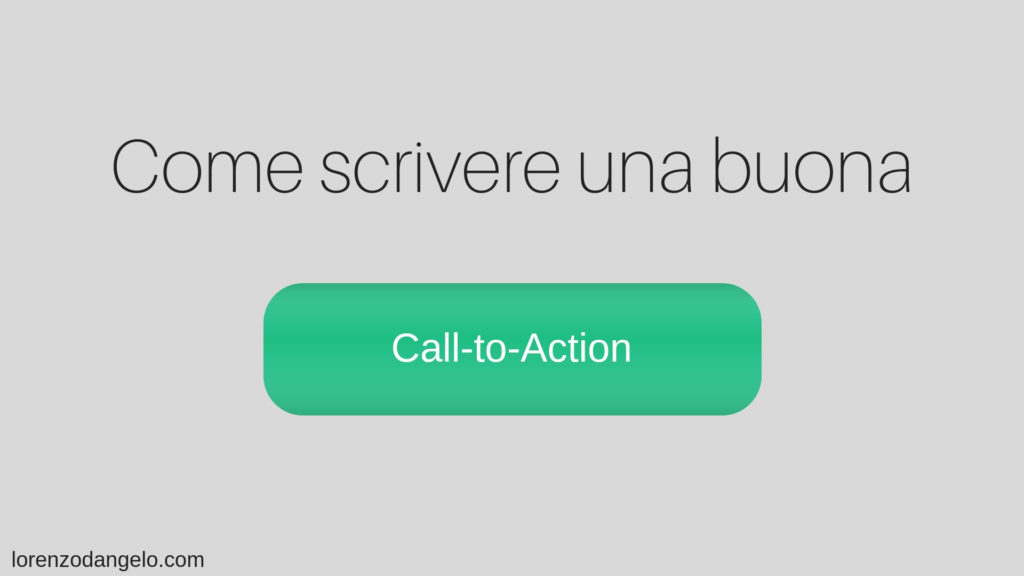 come scrivere una call to action per landing page
