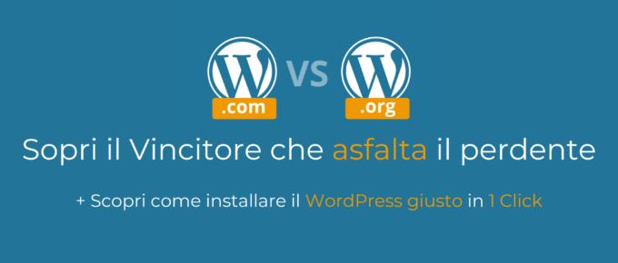 quale wordpress scegliere
